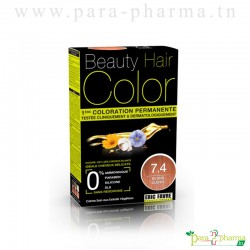 Beauty Hair Color BLOND CUIVRE 7.4