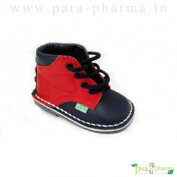 Baby Sghaier Chaussures Premiers pas Bleu & Rouge