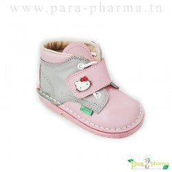 Baby Sghaier Chaussures Premiers pas Rose & Gris