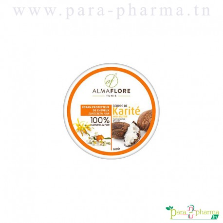 ALMAFLORE Beurre de karité Ylang orange