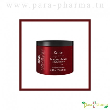 STARTEC Masque Colorant CERISE