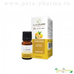 ALMAFLORE Huile essentielle de citron jaune